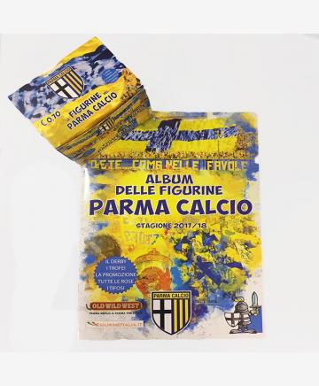 Album delle figurine Parma Calcio con set 50 bustine