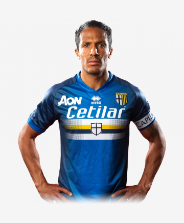 Parma-Sampdoria match day jersey