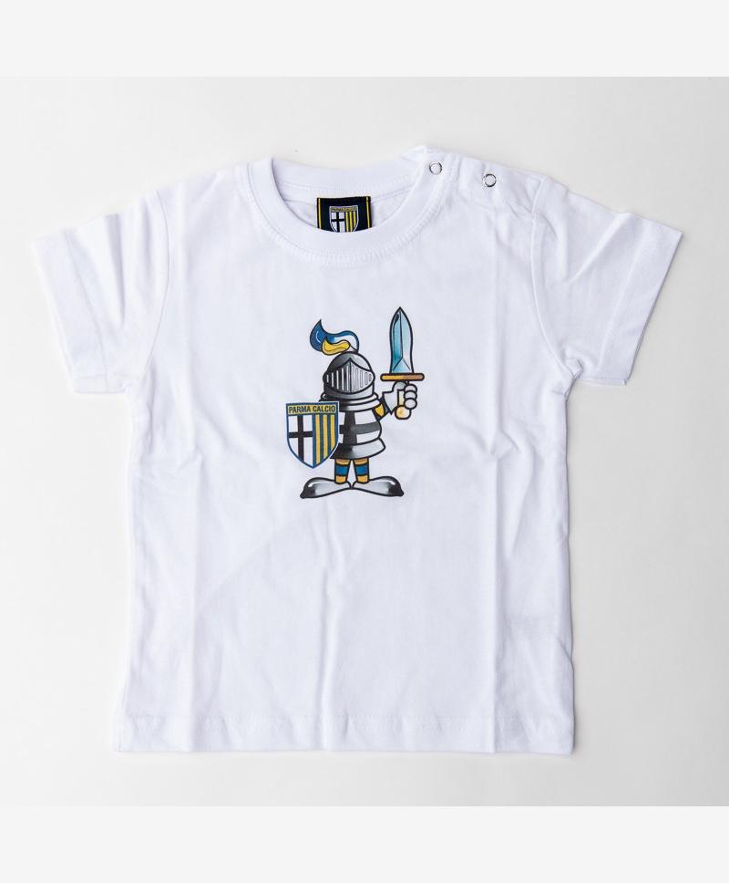 Parma Calcio White T-Shirt Newborn