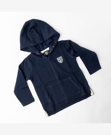 Parma Calcio Blue Hoodie Jr