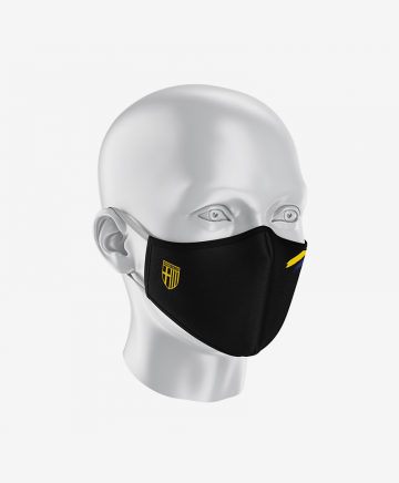 Parma Calcio Face Mask Black