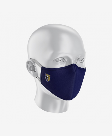 Parma Calcio Face Mask Blue