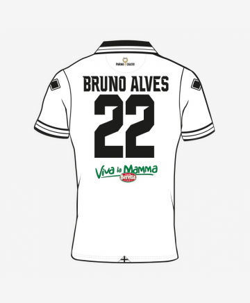 1ST OFFICIAL COMPETITION BRUNO ALVES SHIRT 2018-19