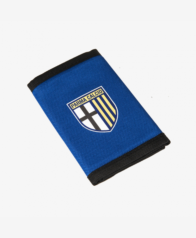 Nylon wallet with velcro closure