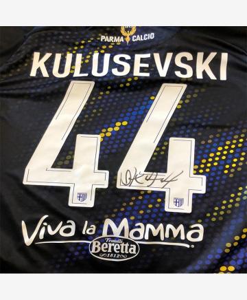 Parma Calcio Maglia Third 19/20 Autografata - KULUSEVSKI 44